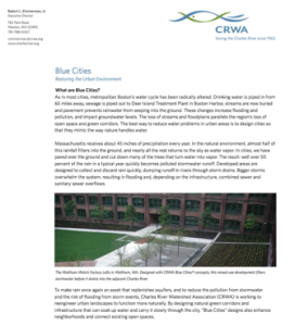 Blue_Cities_Overview_Charles River Watershed Assn