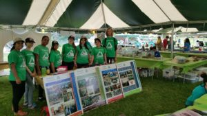 The Green Team presented a river- and nature-based education exhibit at BioBlitz, a Union County-run event held at the Watchung Nature Reservation in Watchung, NJ. Photo: Groundwork Elizabeth.