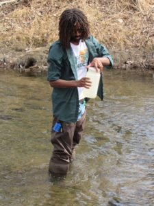 GW Denver staff performs water sampling